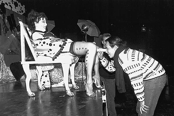 Annie Sprinkle, Kitchen Performance Space, New York, 1990