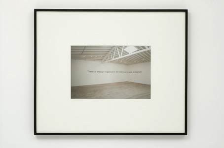 "Jan Timme, ""Installation shot. There is enough magnesium in the human body to take a photograph"", 2005, Installationsansicht ""Luft - Air"", Marc Foxx Gallery, Los Angeles, 2005"