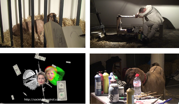 "Stephan Dillemuth, ""The Hard Way to Enlightenment"", 2010, Videostills / video stills"