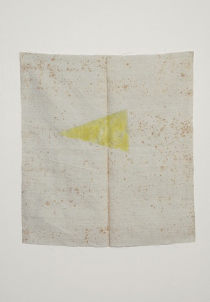 "Sergej Jensen, ""he last yellow Triangle"" (2005)"