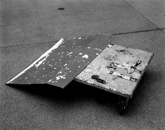 "Christopher Williams, ""As yet untitled (Splatter Gard)"" (2006)"
