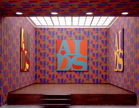 "General Idea, ""AIDS Wallpaper"", 1989, Courtesy of AA Bronson"