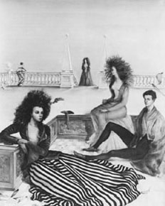 "Leonor Fini, ""Composition with Figures on a Terrace"", 1939"