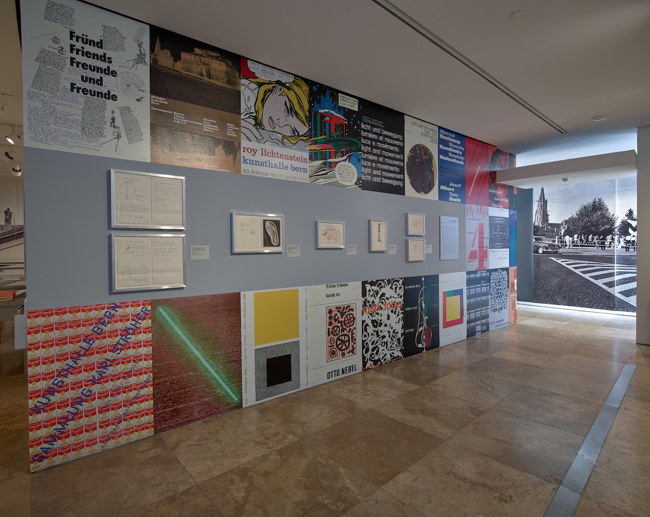 """Harald Szeemann: Museum of Obsessions"", The Getty Research Institute, Los Angeles, 2018, Ausstellungsansicht"