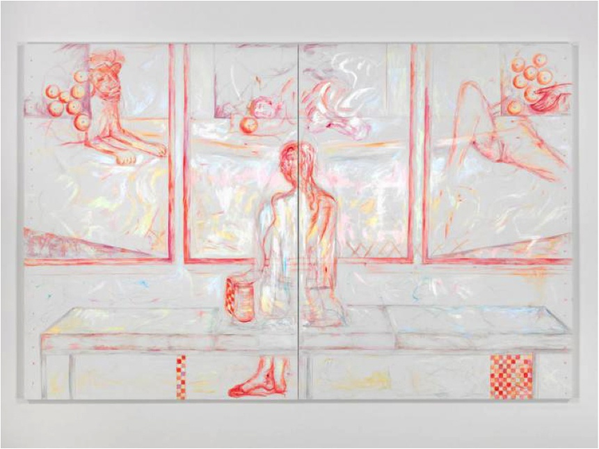 Jutta Koether, Tate BP Bacon Balthus PdF, 2015