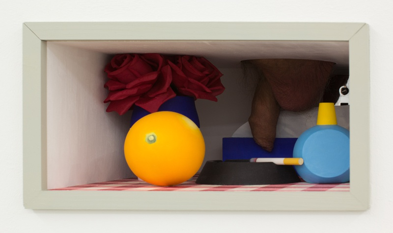 "Jonathan Monk, ""Bedroom Cock Box"", 2019"