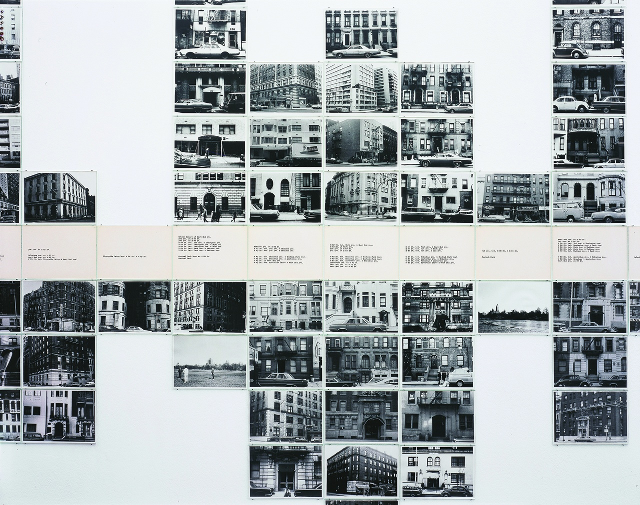 "Hans Haacke, ""Gallery-Goers' Residence Profile, Part 2,"" 1970, detail"