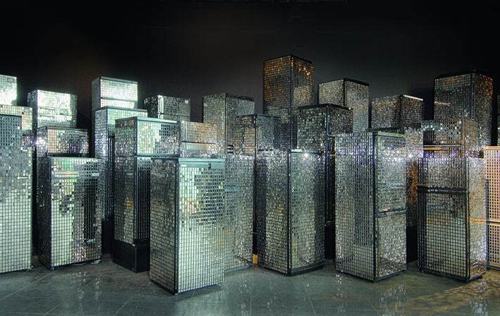 "Kader Attia, ""Untitled (Skyline)"", 2007"