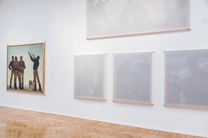 """Tirana Patience,"" National Gallery of Arts, Tirana, 2019/20, installation view"