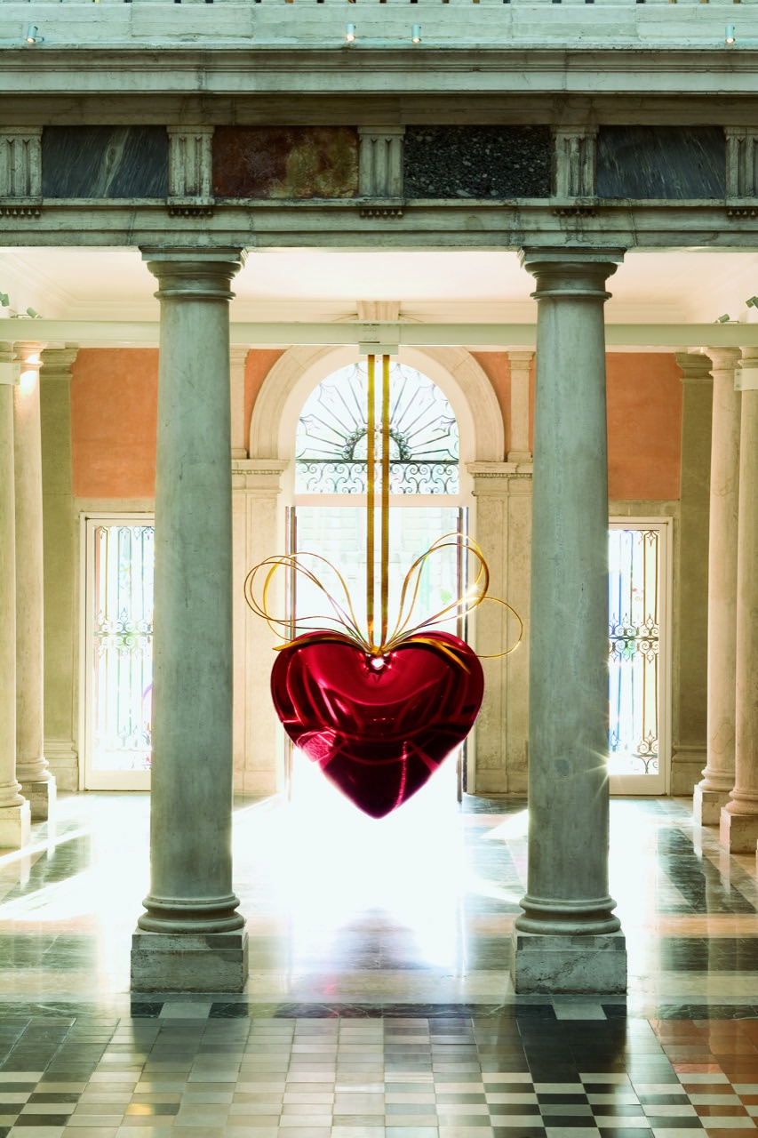"Jeff Koons, ""Hanging Heart (Red/Gold)"", 1994-2006"