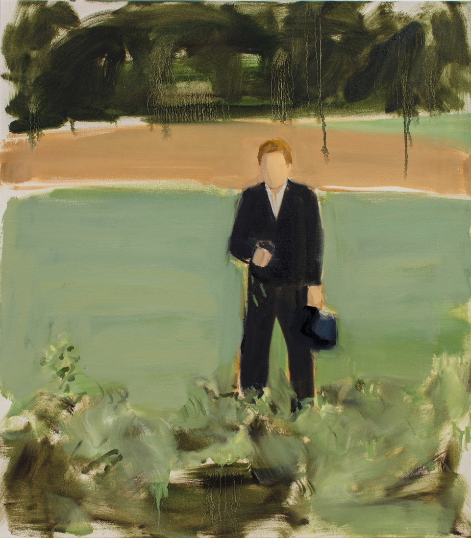 "Gideon Rubin, ""Untitled (Man in the Field)"", 2018"