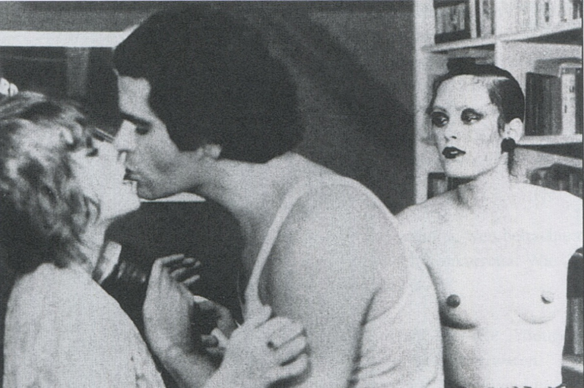 "Karl Lagerfeld in Andy Warhols Film ""Lamour"",1970"